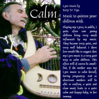 CALM: music to quiten your children with. CD