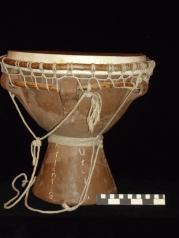 Stone age drum