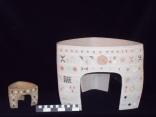 Triangular Altar pots